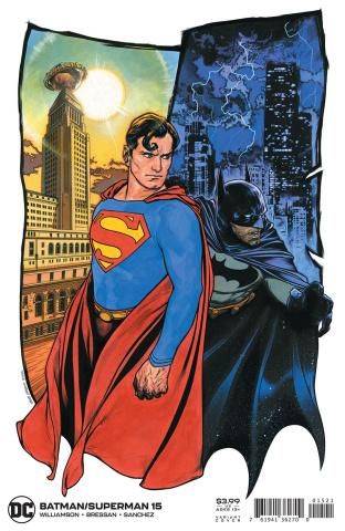 Batman / Superman #15 (Travis Charest Cover)