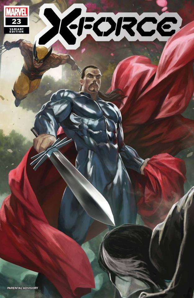 X-Force #23 (Skan Cover)