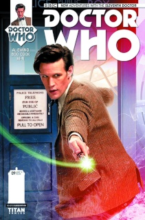 Doctor Who: New Adventures with the Eleventh Doctor #9 (Subscription Cover)