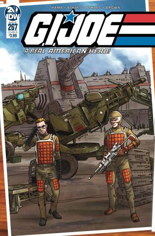 G.I. Joe: A Real American Hero #267 (Sullivan Cover)