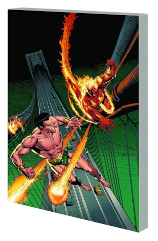 Sub-Mariner and The Original Human Torch