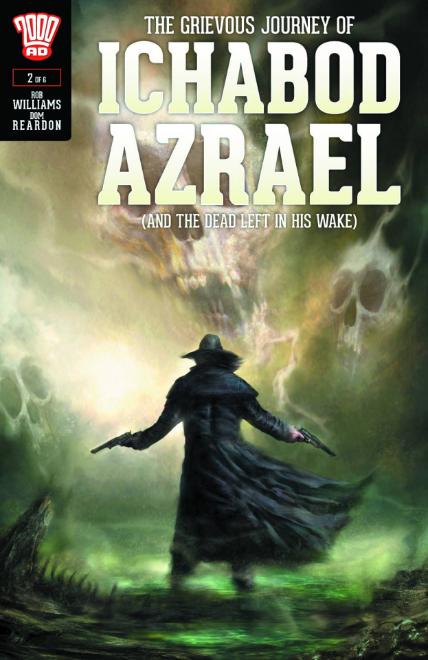 The Grievous Journey of Ichabod Azrael #2 (Percival Cover)