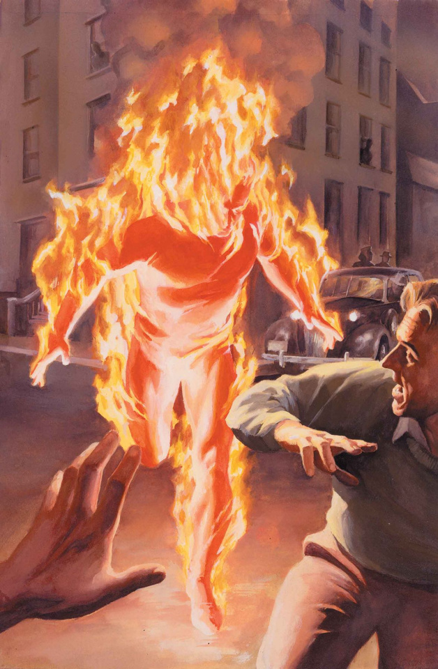 Marvels: Annotated #1 (Alex Ross Virgin Cover)