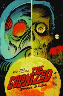 The Colonized #4 (Subscription Cover)