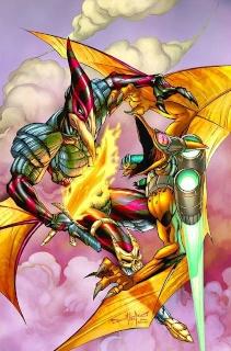 Jurassic Strike Force 5 #4 (Qualano Cover)