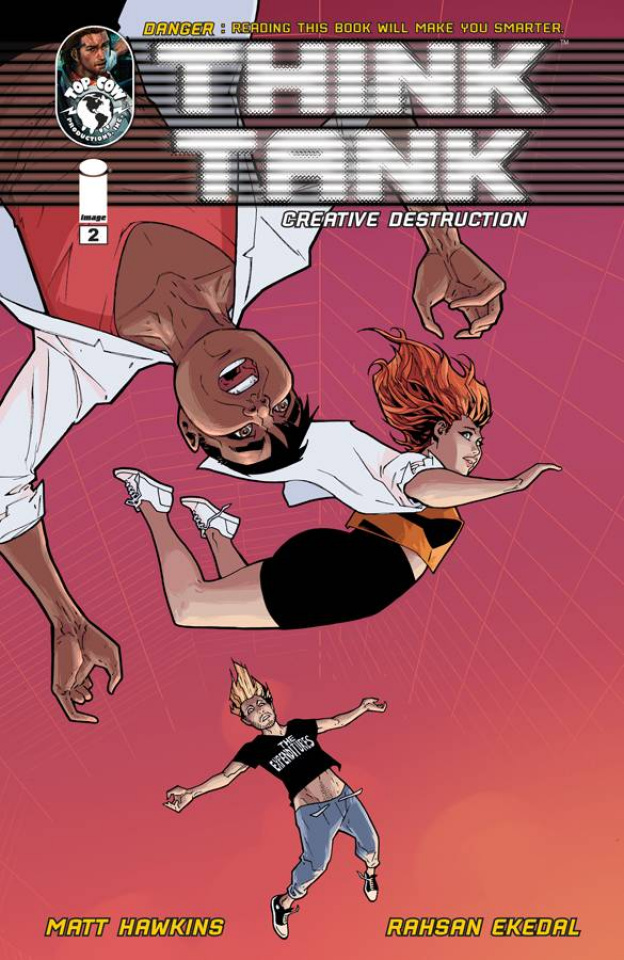 Think Tank: Creative Destruction #2 (Ekedal Cover)
