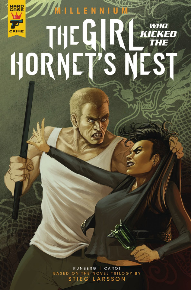 The Girl Who Kicked the Hornet's Nest #2 (Iannicello Cover)