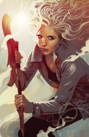 Buffy the Vampire Slayer, Season 12: The Reckoning #1 (Hans Cover)