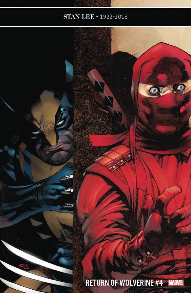 Return of Wolverine #4 (Stevens Cover)