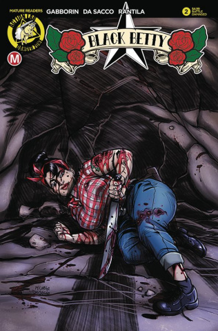 Black Betty #2 (Battle Damaged Cover)
