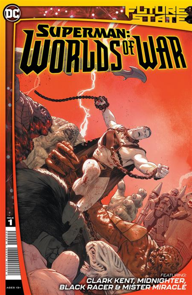 Future State: Superman - Worlds of War #1 (Mikel Janin Cover)