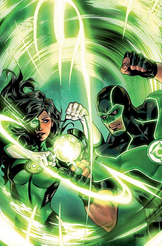 Green Lanterns #3 (Variant Cover)