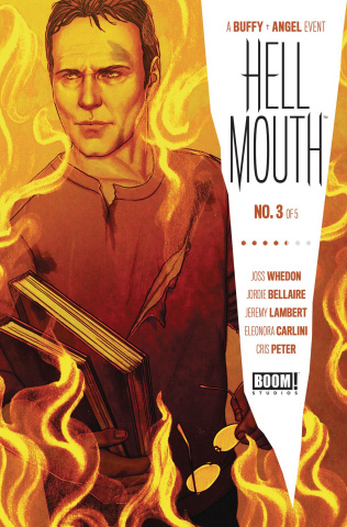 Buffy the Vampire Slayer / Angel: Hellmouth #3 (Frison Cover)
