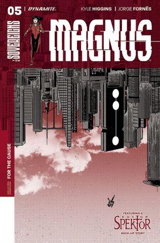 Magnus #5 (Fornes Cover)