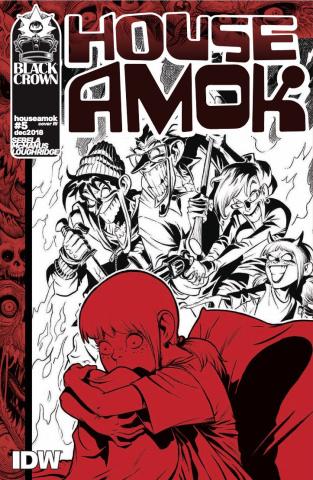 House Amok #5 (10 Copy McManus Cover)