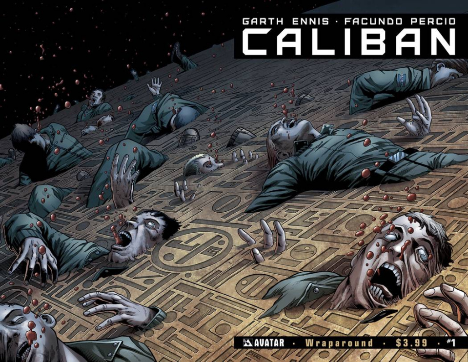 Caliban #1 (Wrap Cover)