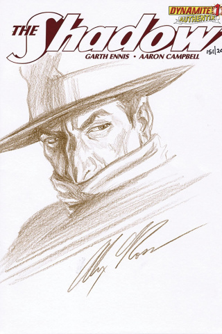 The Shadow #1 (Alex Ross Remark Cover)