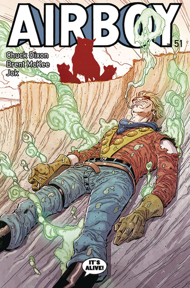 Airboy #51 (McKee Cover)