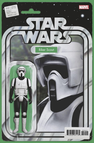 Star Wars #59 (Christopher Action Figure Cover)