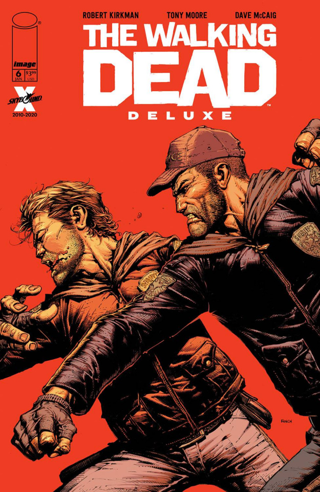 The Walking Dead Deluxe #6 (Finch & McCaig Cover)