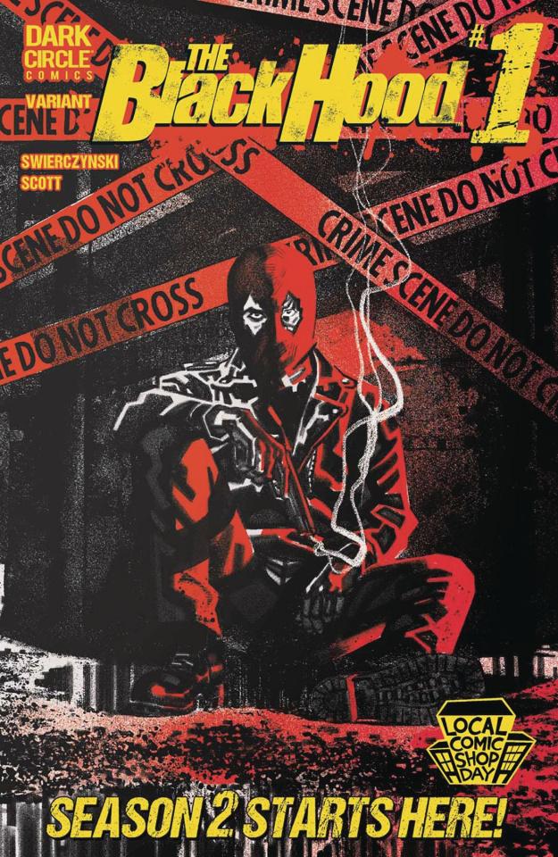 The Black Hood, Season 2 #1 (Local Comic Book Day 2016)