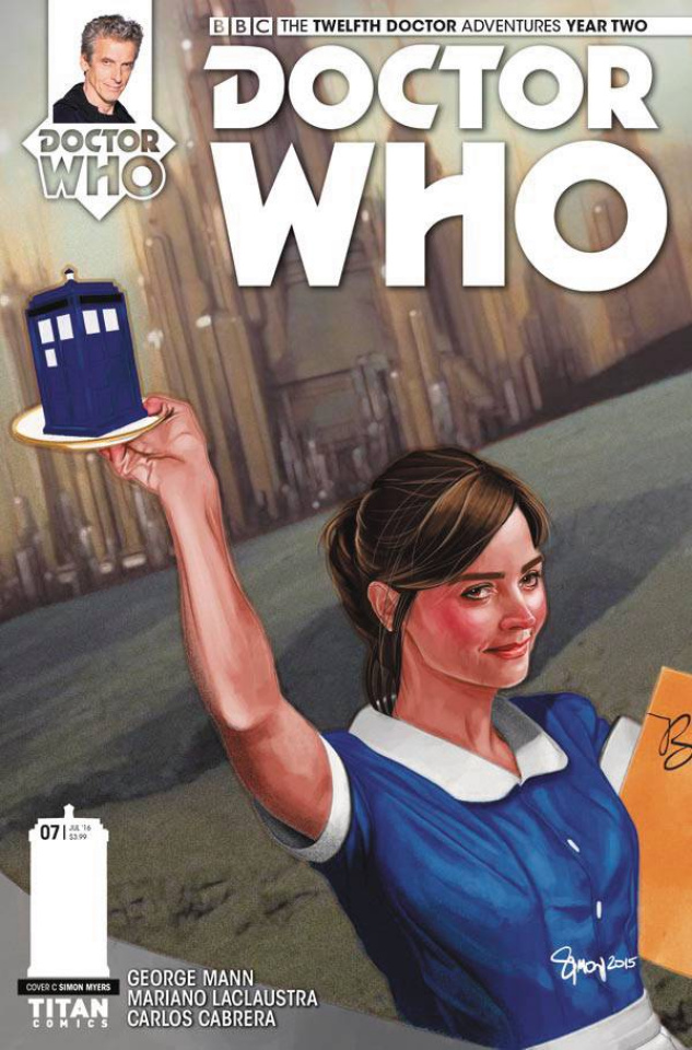 Doctor Who: New Adventures with the Twelfth Doctor, Year Two #7 (Myers Cover)
