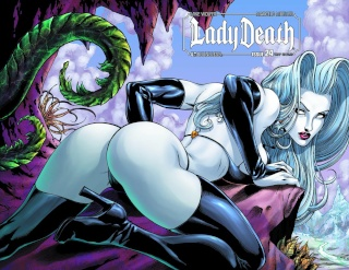 Lady Death #24 (Wrap Cover)