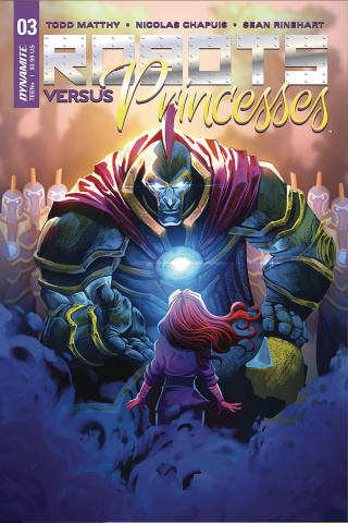 Robots vs. Princesses #4 (Chapuis Cover)