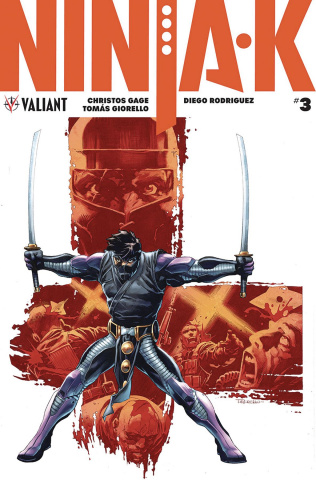 Ninja-K #3 (50 Copy Giorello Cover)