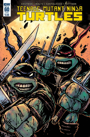 Teenage Mutant Ninja Turtles #60 (Subscription Cover)