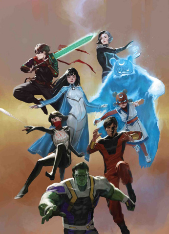 The War of the Realms: New Agents of Atlas #1 (Pyeong Jun Park Cover)