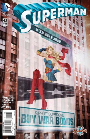 Superman #43 (Bombshells Cover)