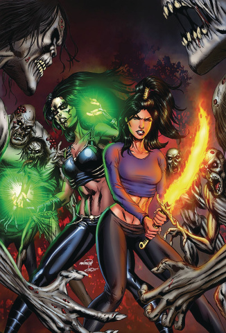 Grimm Fairy Tales: Dance of the Dead #1 (Goh Cover)