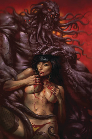 Vampirella #10 (Parrillo Virgin Cover)