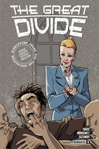 The Great Divide #5 (Markiewicz Cover)