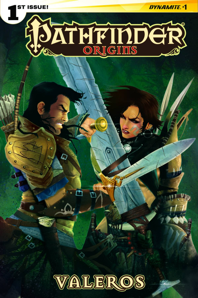 Pathfinder: Origins #1 (Subscription Cover)
