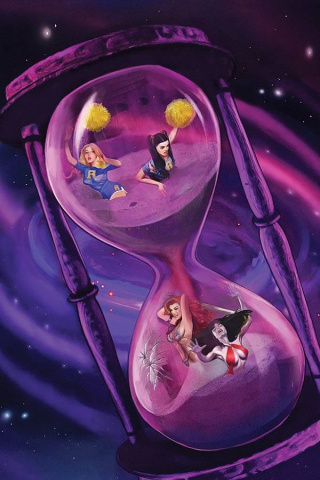 Red Sonja and Vampirella Meet Betty and Veronica #12 (Dalton Virgin Cover)