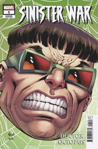 Sinister War #1 (Nauck Headshot Cover)