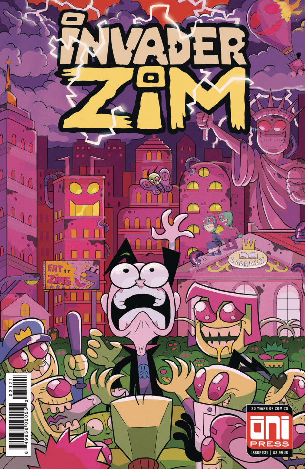 Invader Zim #31 (Cousin Cover)