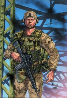 Grimm Fairy Tales: Wounded Warriors Special (Tucci Cover)