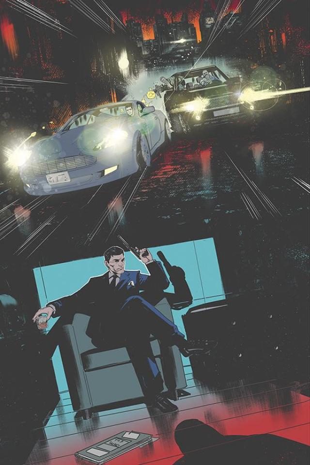 James Bond: 007 #10 (40 Copy Carey Virgin Cover)