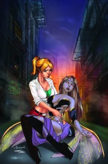 Grimm Fairy Tales Presents: Neverland - Hook #1 (Garza Cover)