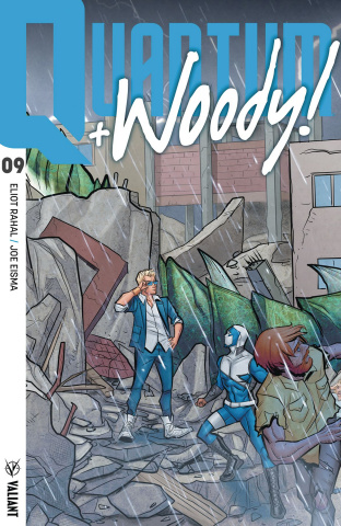 Quantum & Woody #9 (20 Copy Interlocking Cover)