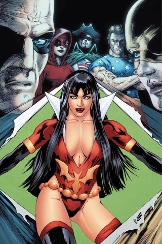 Vampirella: The Dark Powers #2 (25 Copy Lau Virgin Cover)