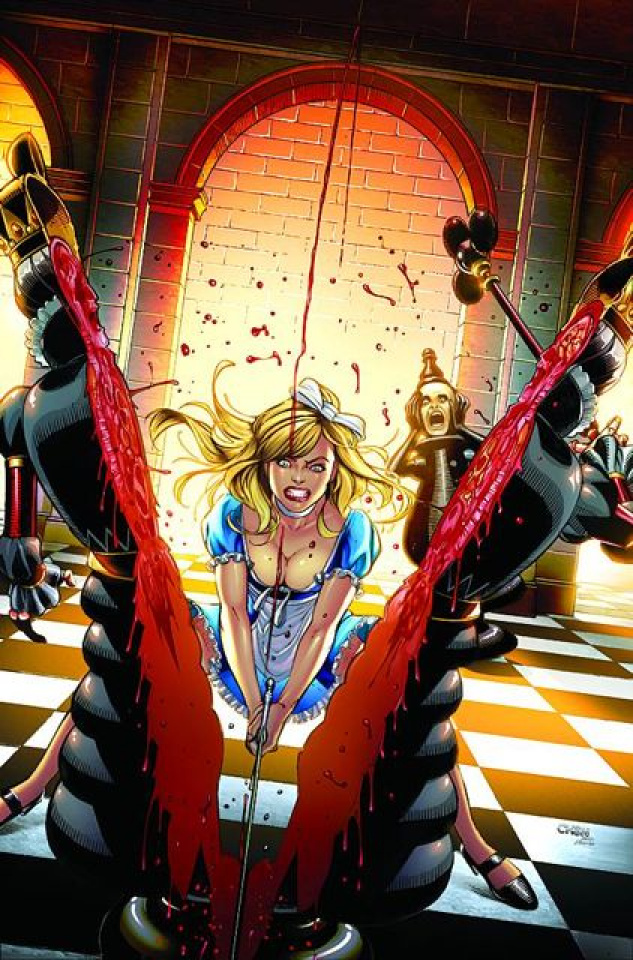 Grimm Fairy Tales: Alice in Wonderland #5 (Chen Cover)