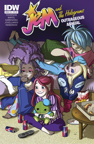 Jem and The Holograms Outrageous Annual #1 (Jem Babies Cover)