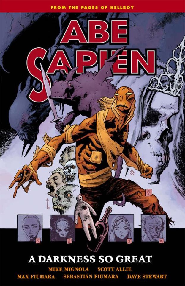 Abe Sapien Vol. 6: A Darkness So Great