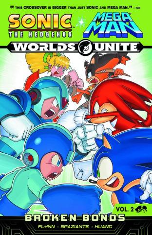 Sonic / Mega Man: Worlds Unite Vol. 2: Broken Bonds