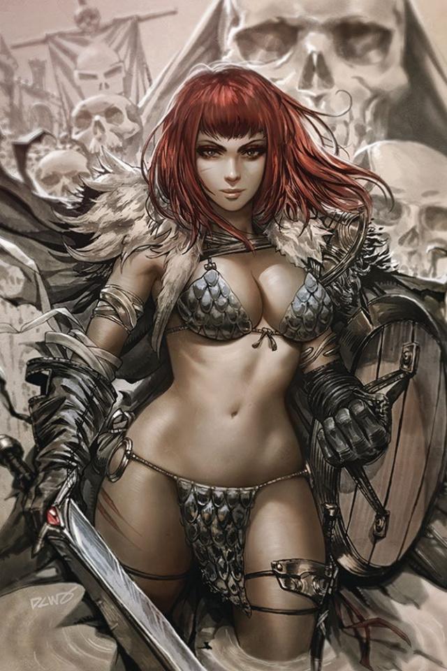 Vampirella / Red Sonja #1 (25 Copy Chew Virgin Cover)