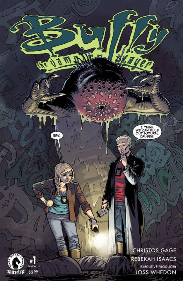 Buffy the Vampire Slayer, Season 11 #1 (Isaacs Cover)